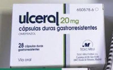 ULCERAL CAPS 28'S