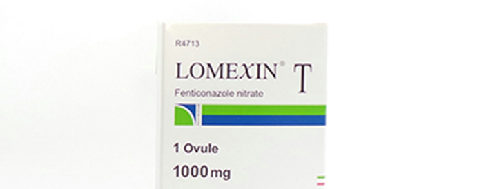 LOMEXIN T 1000MG OVULES 1'S