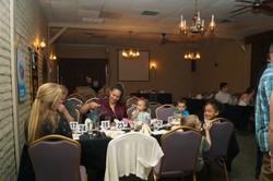 Guests at rehearsal dinner