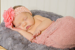 Charlotte sleeping