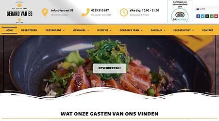 Homepage Gerard van Es
