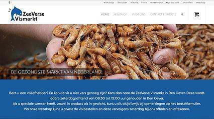Homepage Zeeverse Vismarkt