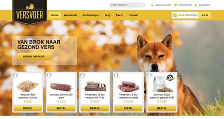 Homepage Versvoer