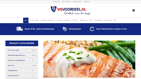 Homepage Visvoordeel