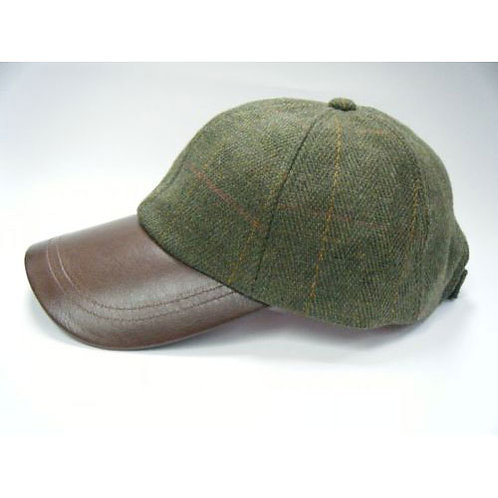 Kids Derby Tweed Baseball Cap