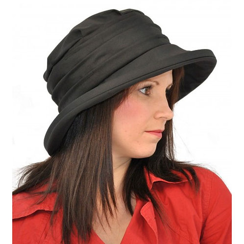 Olney Ladies Annabel Wax Rouched Hat