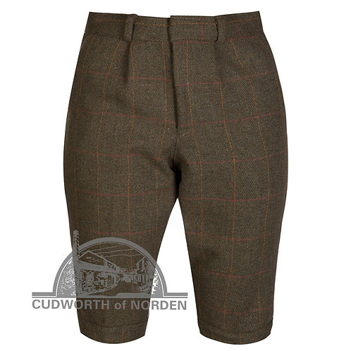 Kids Tweed Breeks - Dark Green Childrens Breeches