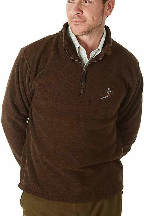 Sherwood Forest Hanford Fleece with Pheasant embroidery