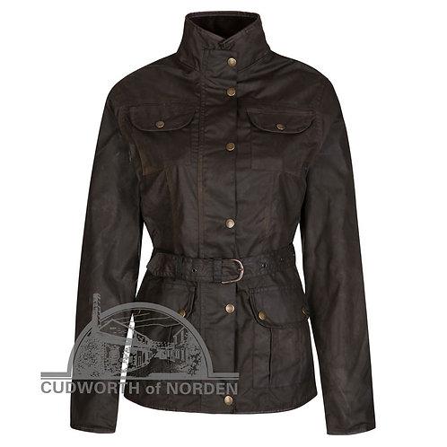 Ladies Elveden 4 Pocket Waxed Cotton Jacket