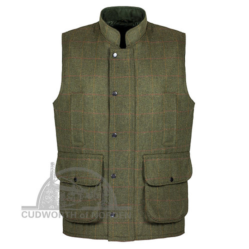 Gents Derby Tweed Shooting Vest