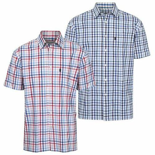 Champion Torquay 100% Cotton Short Sleeve Men's Shirt straight hem