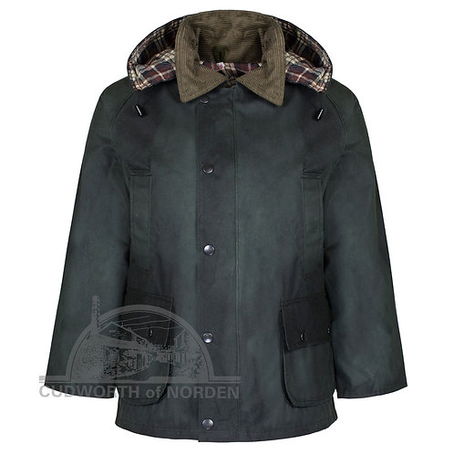 Kids Traditional Wax Jacket
