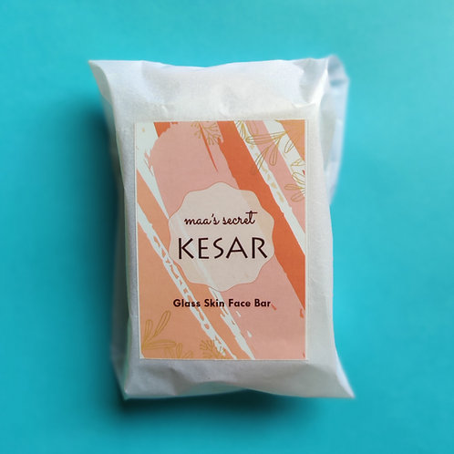 Kesar Glass Skin Face Bar