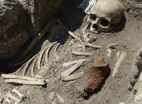ANCIENT VAMPIRES UNEARTHED IN BULGARIA
