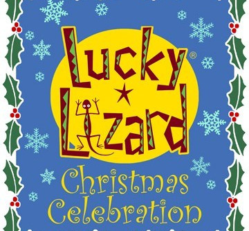 Annual Lucky Lizard Christmas Celebration Sale!  Up to 50% off!