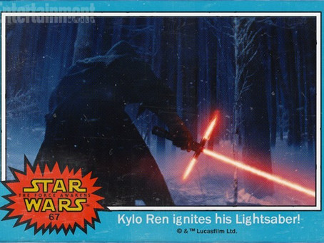 Collect 'Em, Trade 'Em: New Star Wars Characters Revealed in Throwback Trading Cards