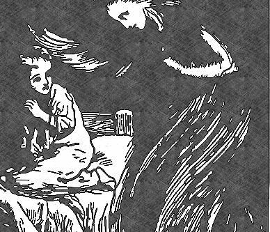Ghost hag stalks children in Ft. Worth museum