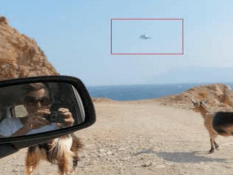 UFO SEEN OVER THE GREEK ISLAND OF CRETE