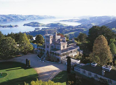 'GREY LADY' HAUNTS NEW ZEALAND COLLEGE AND CASTLE