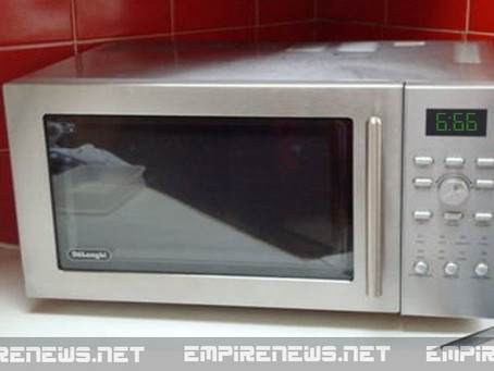 Possessed Microwave Terrorizes Family