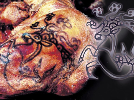 ANCIENT INK: SIBERIAN TATTOO THAT'S 2,500 YEARS OLD