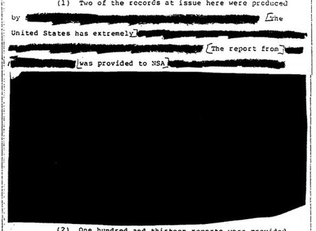 "NSA ""Loses"" Originals of Redacted UFO Files"