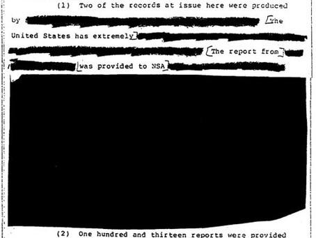 "NSA ""Loses"" Originals of Redacted UFO Files"