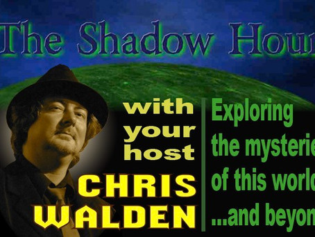 Tonight on THE SHADOW HOUR: What goes bump in the dark