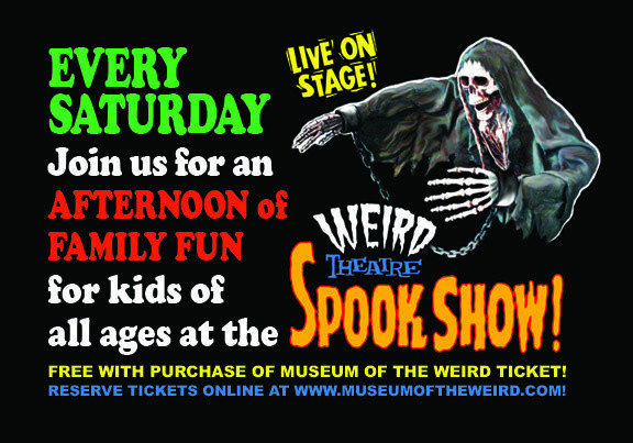 Weird Theatre Spook Show at Museum of the Weird