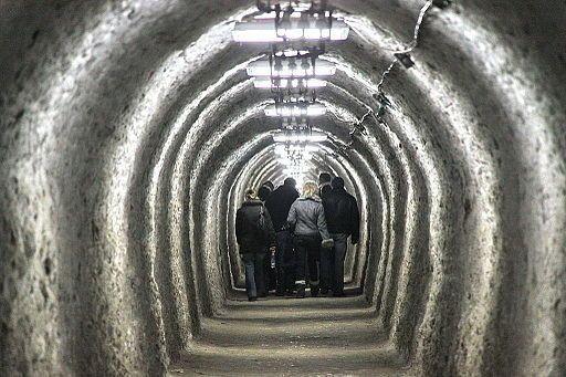 Salina Turda tunel de acces 4