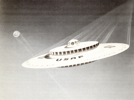 UNITED STATES AIR FORCE BUILT A FLYING SAUCER IN 1950s
