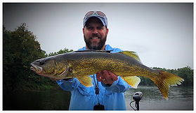 Walleye on the Wisconsin River