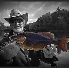 Wisconsin River Smallmouth caught by Dad
