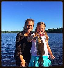 Bass fishing in Wisconsin