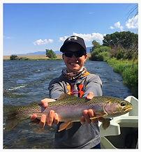 Nice Madison river rainbow