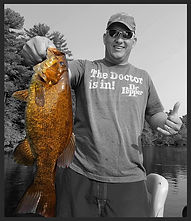 Smallmouth fishing on Wisconsin River