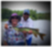 Musky fishing the Wisconsin River