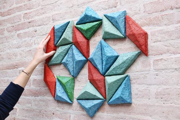 Pulp, briques à combiner. crédits photographiques ©Damien Sarroméjean