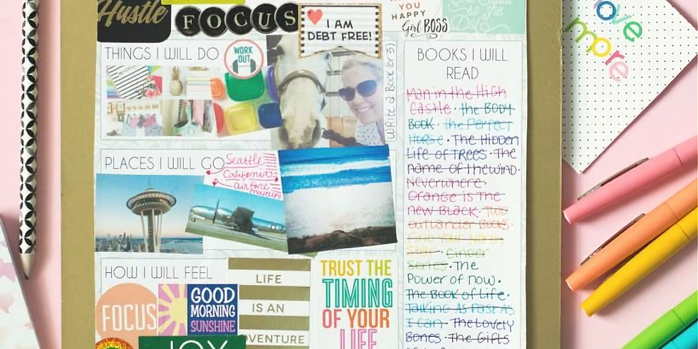 Vision Board Workshop with Marthe Laberge