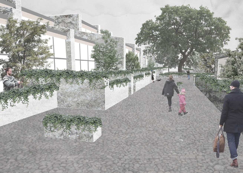 Perspective, Cumbernauld Housing