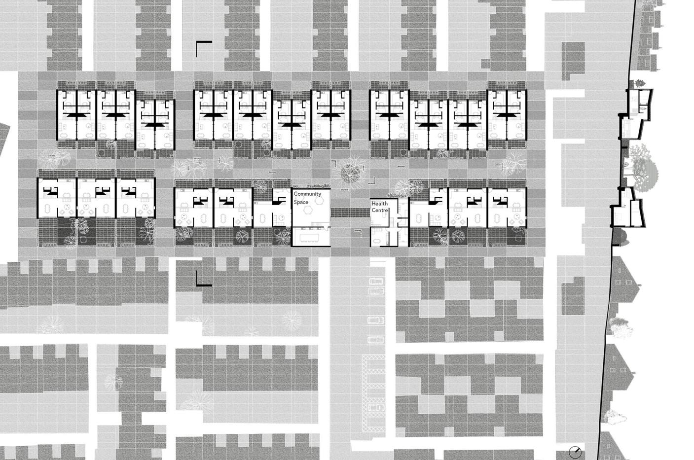 Key Plan, Cumbernauld Housing
