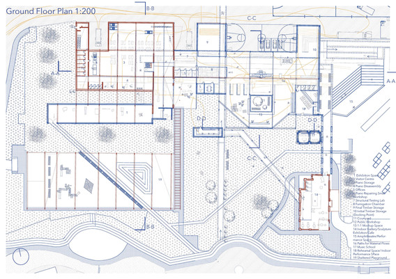 Ground Floor Plan, Harmony and Dissonance from Growth to Richness through Music