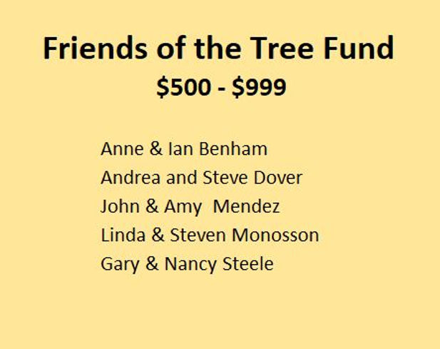 Friends of Tree Fund over 500  2021-05-0