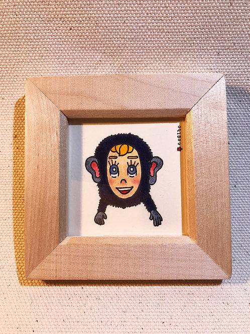 チンパンジー型