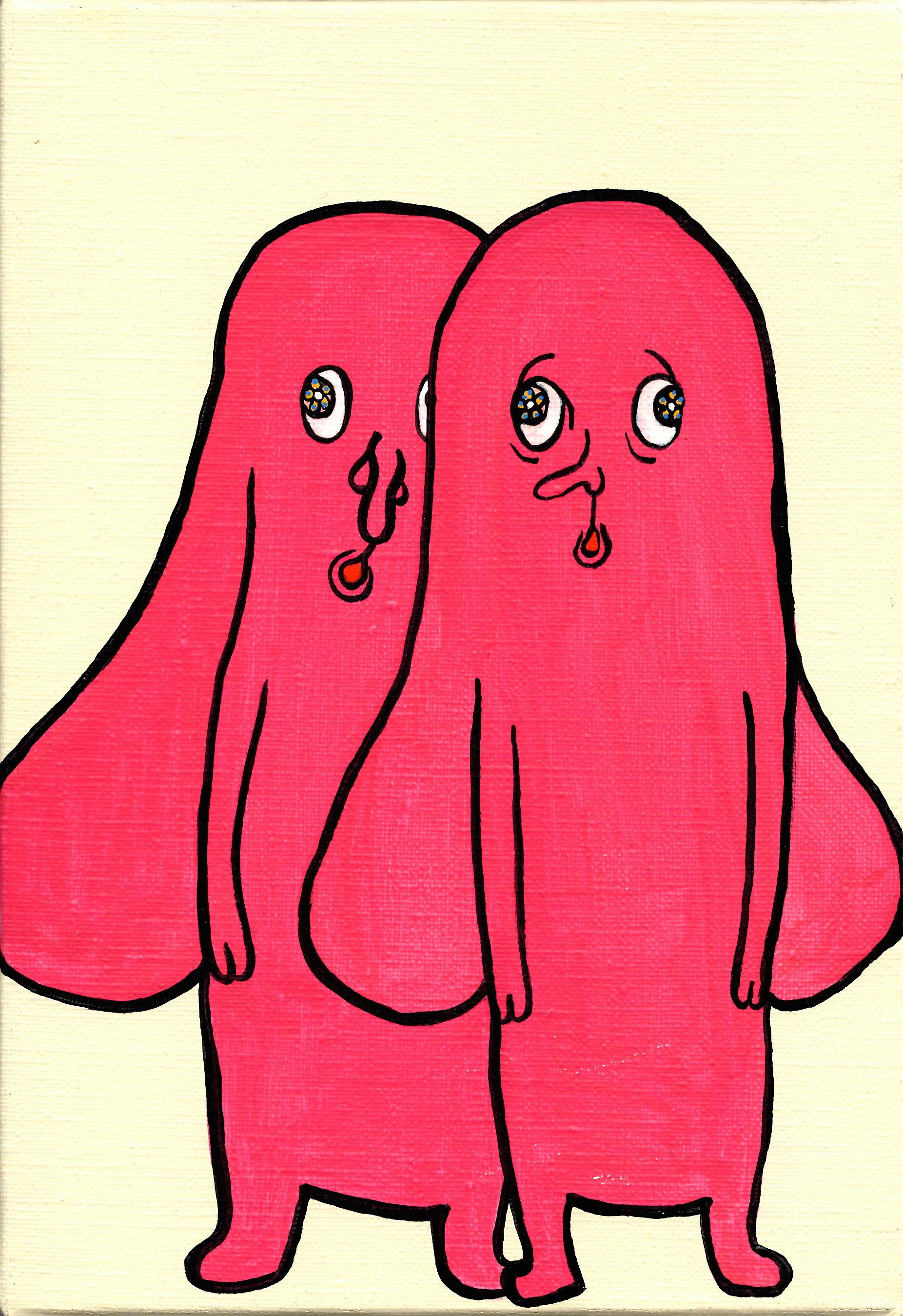 二人のピンク SMサイズ