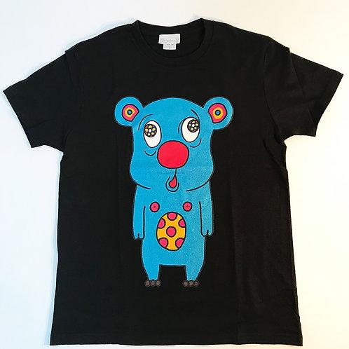 トボッチョTシャツブラック(ブルー)