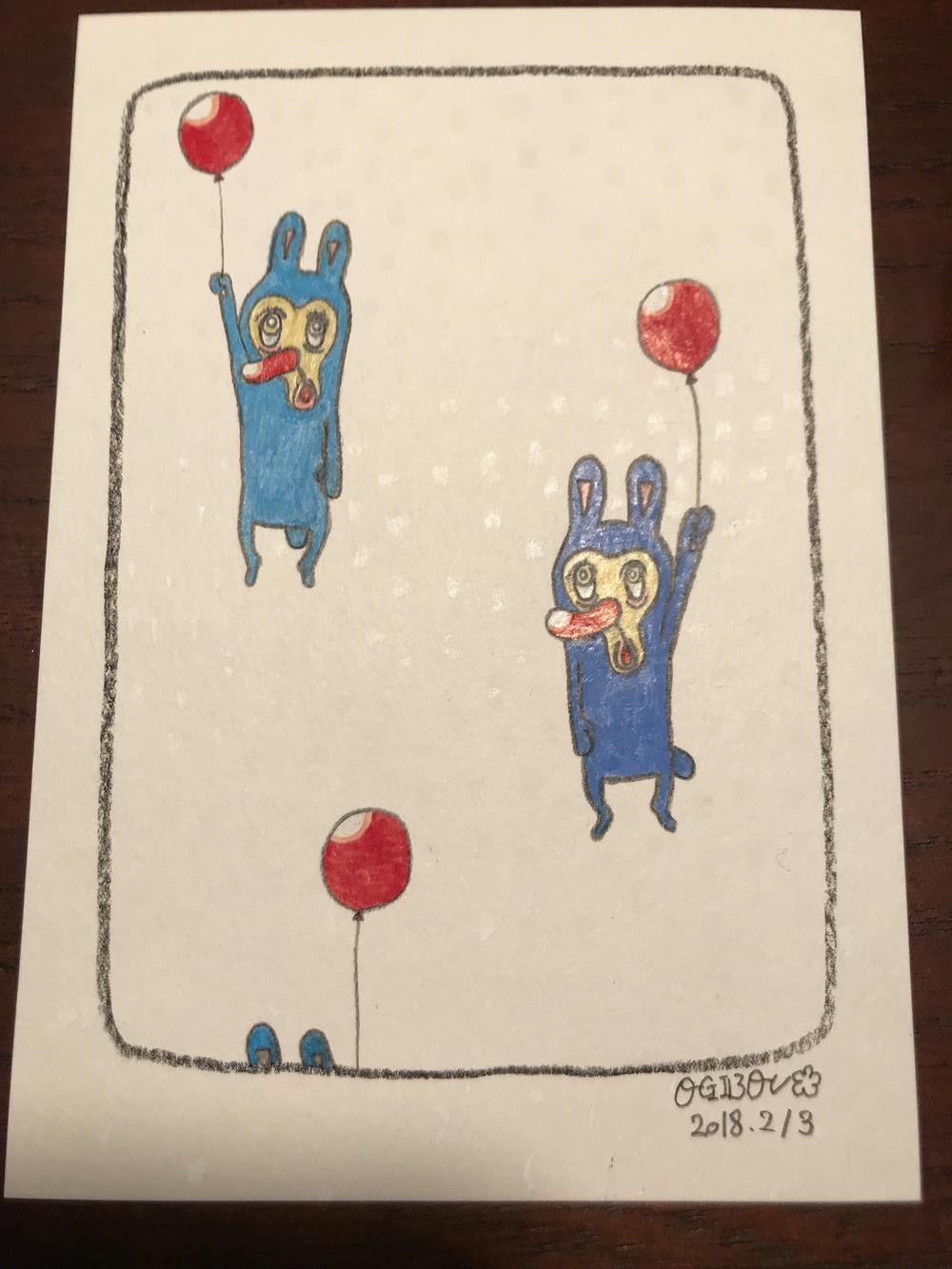 ブルー三人2