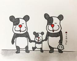 パンダの家族