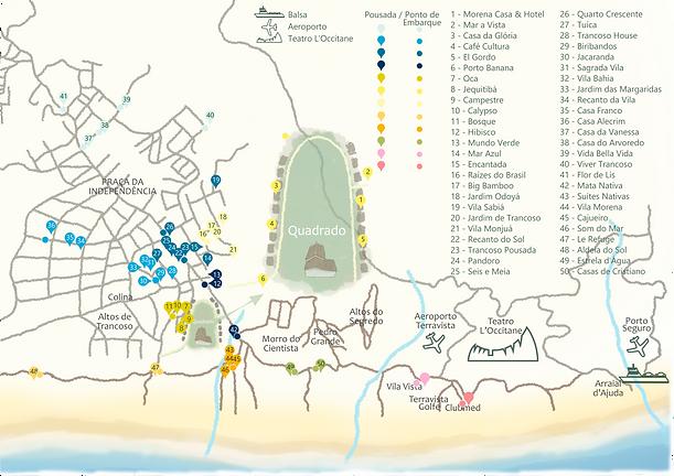 Pousadas e Postos de Embarque San Island