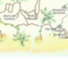 mapa Terra Vista, ClubMed, morro cientis